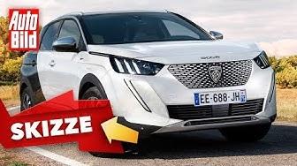 Peugeot 3008 (2020): Facelift - SUV - Motoren - Preise - Infos - Skizze