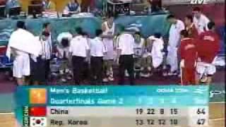 2006多哈亚运会男篮中国VS韩国j