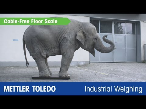 Cable-Free Floor Scale ACW520 - Product Video - METTLER TOLEDO Industrial - En