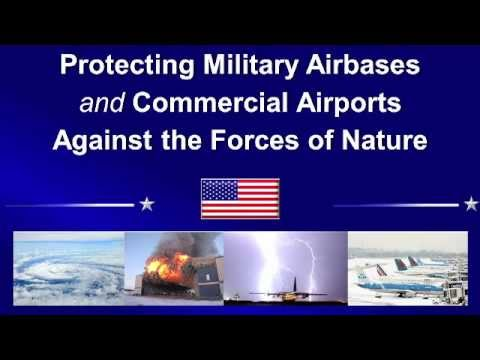 NAO Protecting Military Airbases & Airports against the Forces of Nature