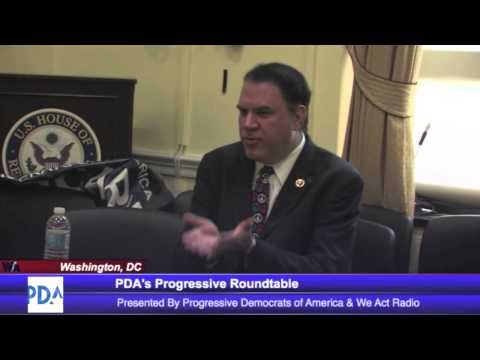Alan Grayson at PDA's Congressional Roundtable - September 11, 2013