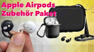 Gambar cover Apple Airpods Zubehör Paket - Sinnvoll oder Geldverschwendung ? Test Review DERHOM