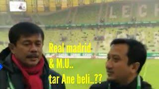 Curhatan Ust.Yusuf mansyur mau beli M.U & Madrid di stadion Lechia