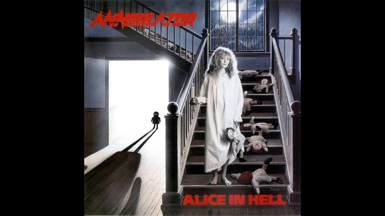 Death Girl Wallpaper Annihilator Alice In Hell Full Album Remaster Hq