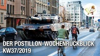 Der Postillon Wochenrückblick (9. – 15. September 2019)