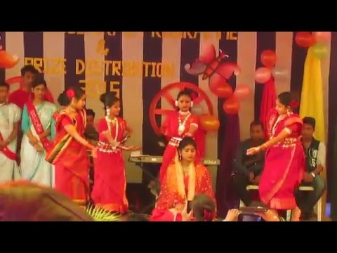 Lila Bali. Performed By: Nafisa Anjum &Her Group@Milestone School's Annual Program- 22th Dec,'15