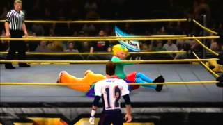 VGWF NXT-Pennywise (It!) VS Arnold (Hey Arnold)