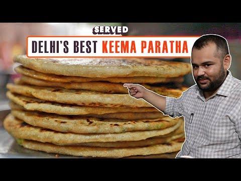 Exploring Laxman Dhaba's Famous Keema Paratha | Delhi Street Food | Served#05