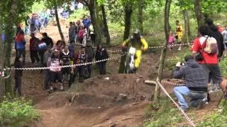 descenso santiago v gp open gallego santiago dh 2013 parte 1