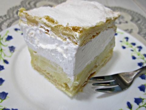 Пирожное Наполеон по-польски |  Кремувка. Рецепт пирожного | Kremówka