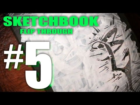 Sketchbook Flip through #5