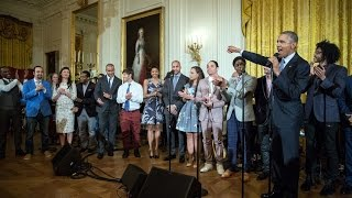 Hamilton at the White House