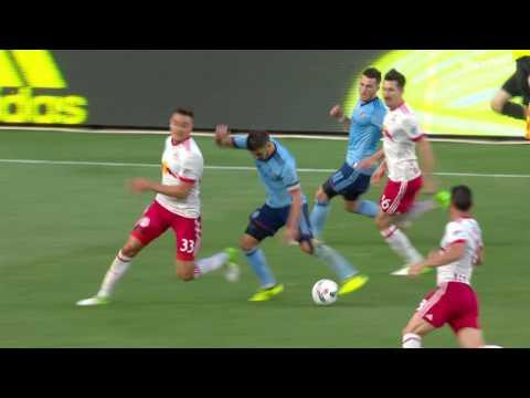 David Villa's first MLS hat-trick | NYC vs. RB | 08.06.17