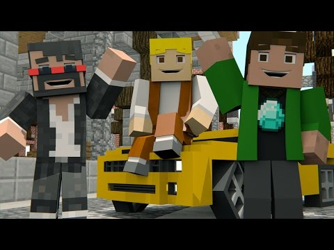 ♫ MINECRAFT SONG 'Minecraft Life' Animated Minecraft Music Video - TryHardNinja