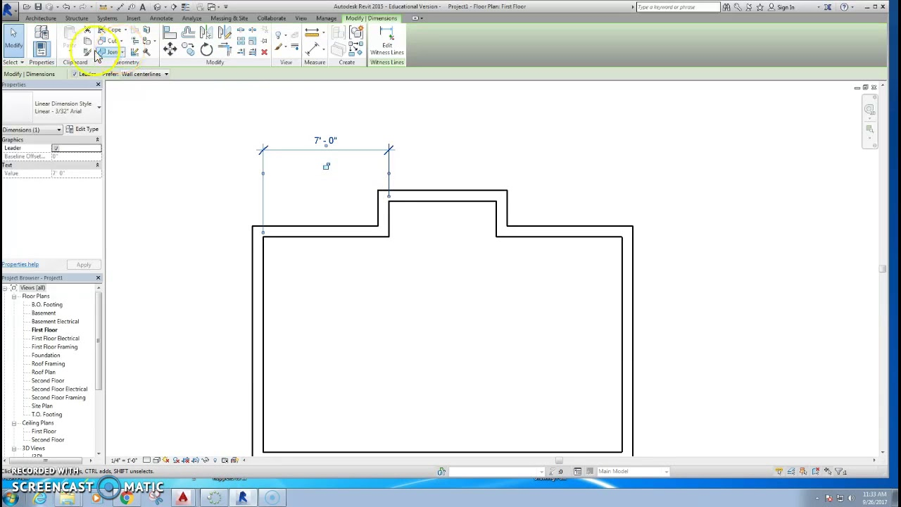 Laying Out A Room revit - laying out room with dimensions - youtube