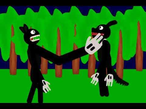Trevor Henderson Cartoon Cat Vs Trevor Henderson Cartoon Dog