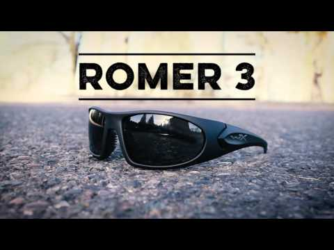 4bad1c5ec6b6 Wiley X - Wiley X Romer 3 Sunglasses - Smoke Grey/Clear/Rust Lens - Matte  Black Frame #11-62823