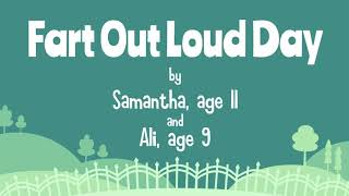 Fart Out Loud Day