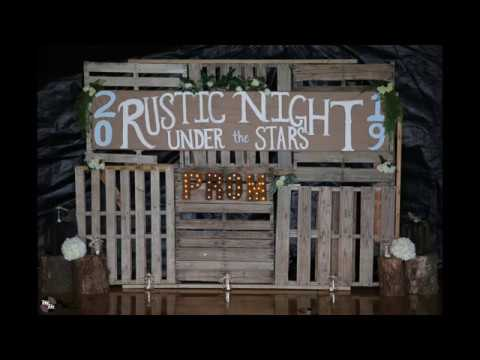Rangely High School Rustic Night Under The Stars 2019 Prom  Grand March