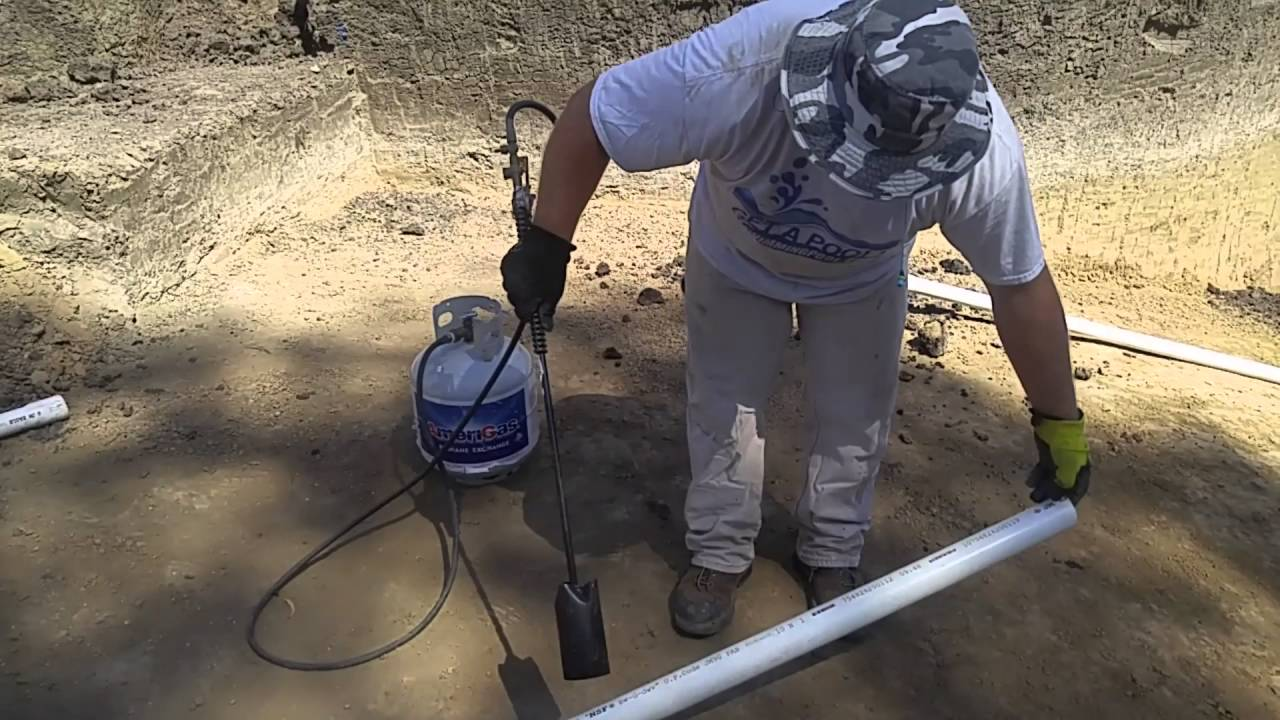 Heating PVC Pipe Until Flexible - YouTube