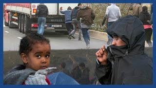Calais migrants: 'Get to England or die trying' | Guardian Docs