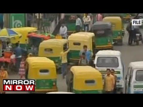 Taxis, Autos & Petrol pumps on strike in Delhi