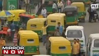 Taxi's, Auto's & Petrol pumps on strike in Delhi