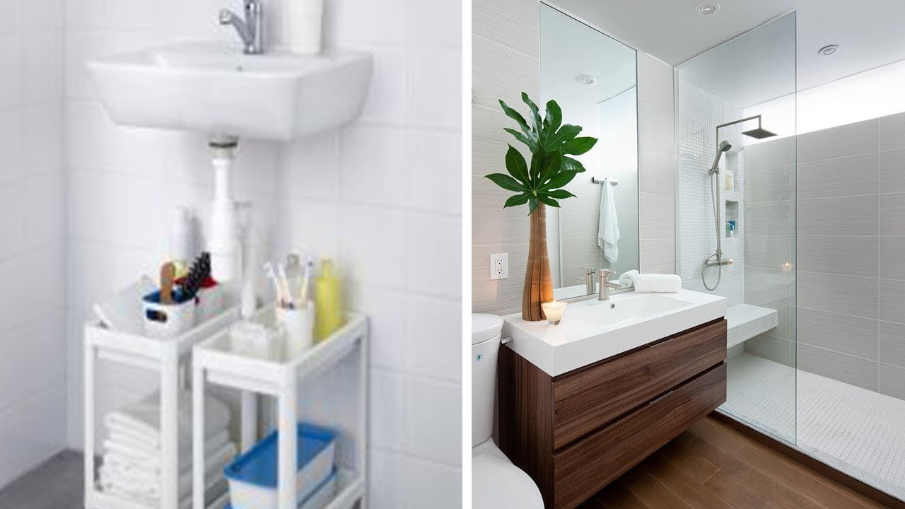 31 IKEA Bathroom Cabinet Hack - YouTube