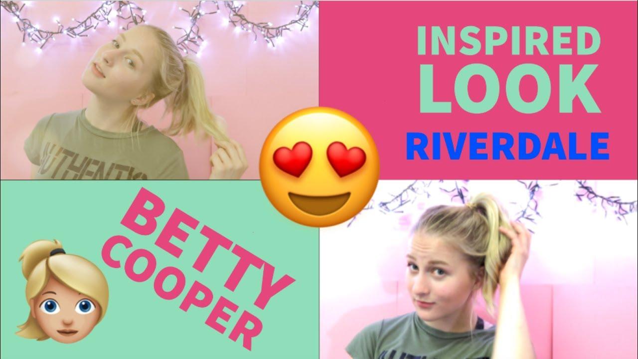 Betty Cooper Makeup Tutorial Riverdale Tv Series