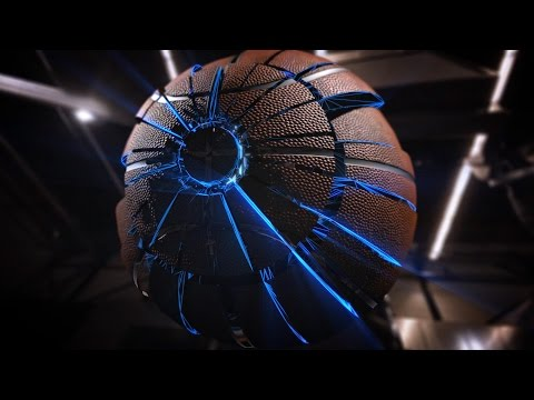 "Basketball tv show intro animation ""Vid Sverhu"". Motion Design"