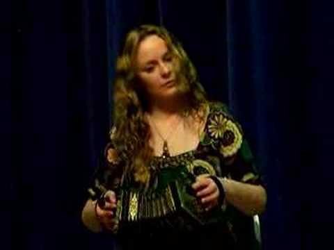 "Niamh Ni Charra -  "" The Hag at the Churn"" - Hammersmith Irish Cultural Centre, London 03.04.2008"