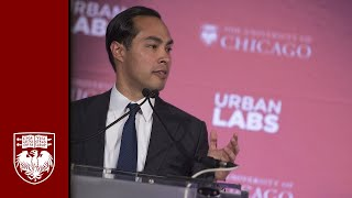 Julián Castro at University of Chicago Urban Labs Announcement