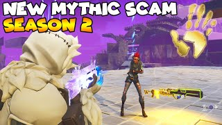 NEW MYTHIC SEASON 2 SCAM ! 💯😱 (Scammer Gets Scammed) Fortnite Save The World