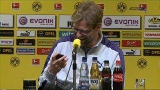 Pressekonferenz mit lustigem Jürgen Klopp - Dzeko ruft an - SPORT1