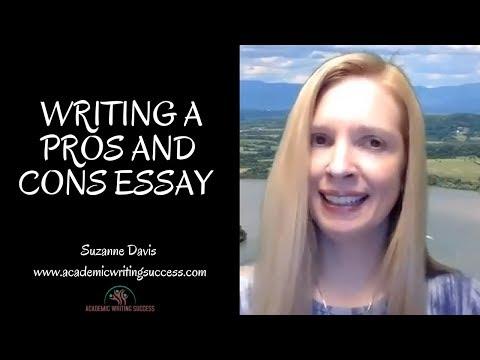 Видео Essay pro und contra