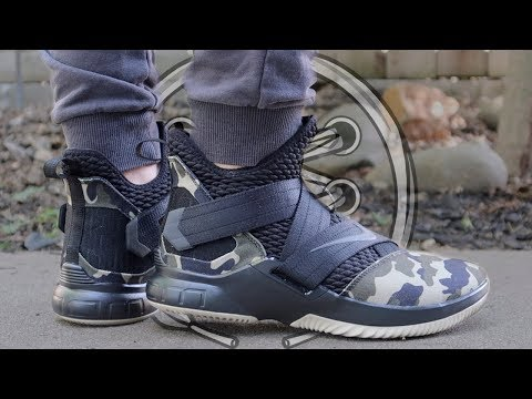 buy online d8aed 54e86 Nike LeBron Soldier 12 Review - YouTube