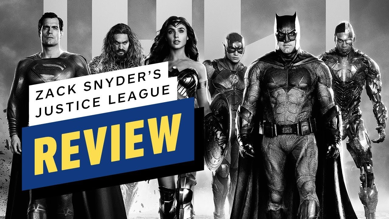 'Zack Snyder's Justice League' Review: Superheroes Become The ...