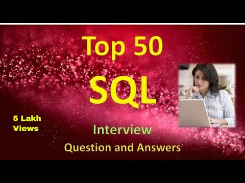 Top 50 SQL Interview Questions and Answers Part 1