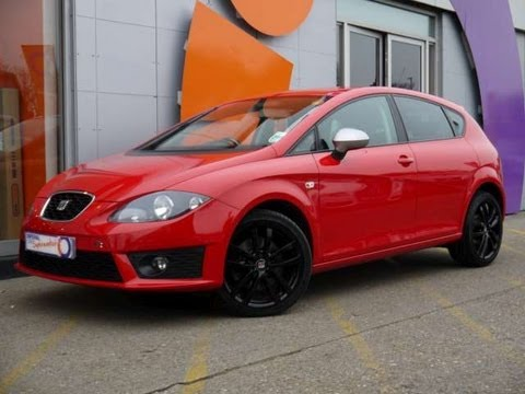 2010 seat leon fr 2 0tdi cr 170 dsg red for sale in. Black Bedroom Furniture Sets. Home Design Ideas