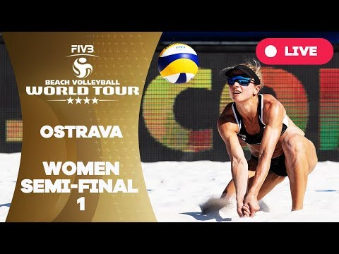 Ostrava 4-Star - 2018 FIVB Beach Volleyball World Tour - Women Semi Final 1