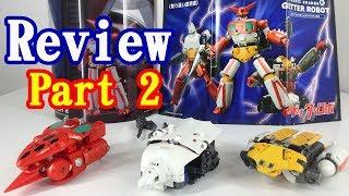 ダイナミックチェンジR ゲッターロボ レビューpart 2 Dynamic Change R GetterRobo Review part 2 フリーングのダイナミックチェンジシリーズにリアル頭身の...