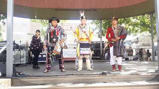 SF INDIAN MARKET 2019  - TRADITIONAL NATIVE AMERICAN CLOTHING CONTEST  -  Boys Traditional