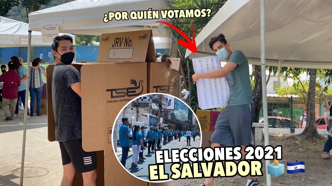 Así se vivieron las ELECCIONES 2021 🗳 en EL SALVADOR 🇸🇻😱