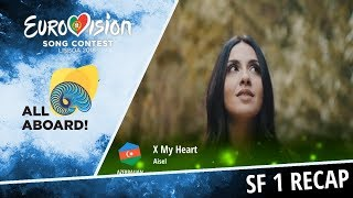 Eurovision 2018 | Recap of Semi Final 1 [voting closed]