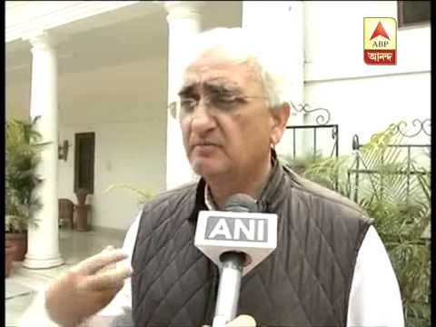 Salman Khurshid on his comment on Narendra Modi, that he is impotent