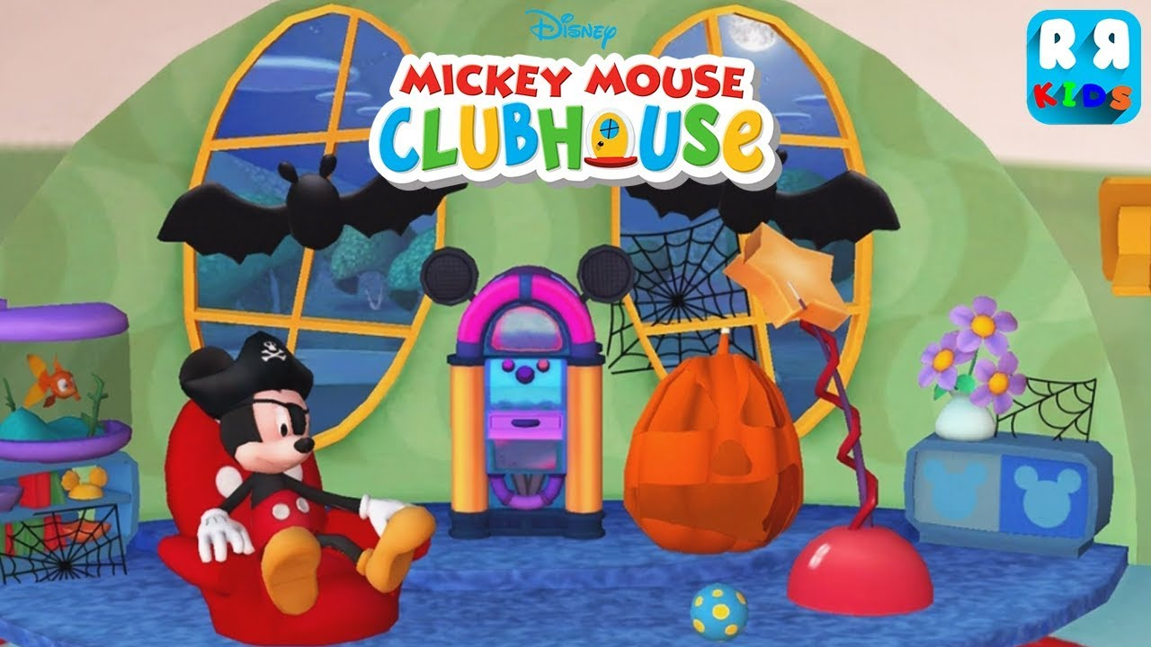Mickey Mouse Clubhouse - Color & Play - Halloween Edition ...