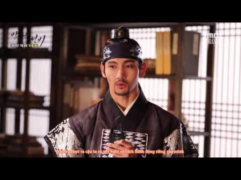 [Vietsub] The Scholar Who Walks The Night - Changmin Interview