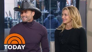 Video Tim McGraw And Faith Hill On Their First Collaborative Album, 'The Rest Of Our Life' | TODAY download MP3, 3GP, MP4, WEBM, AVI, FLV November 2017