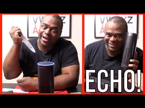 Thumbnail: Amazon Echo: I WILL KILL YOU! [Unboxing & Review]