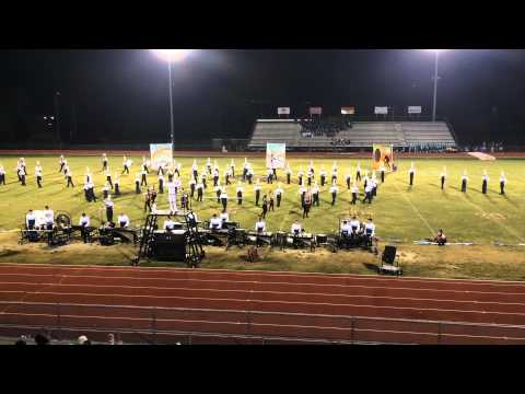 Hardin Valley Academy Band Performance on September 19, 2015  at Ooltewah, Tennessee